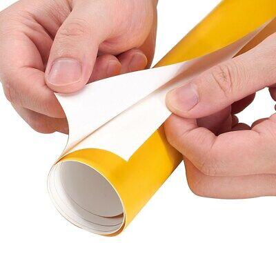 Auroral Metallic Gloss Yellow Vinyl Car Wrap Air Free Bubble Wrap Films Sticker 6
