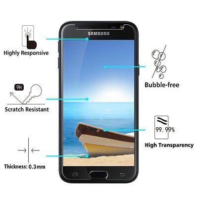 Pour Samsung J3/J4/J5/J6/J7 2018 2017 2016 Case Coque Tpu + Vitre Verre Trempe 6