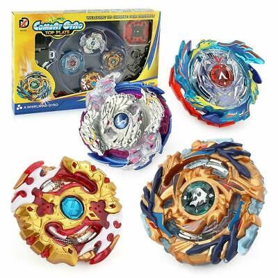 4x Beyblade Burst Arena Metal Set Gyro Fighting Gyroscope Launcher Spinning Toys 7