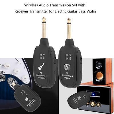 Set De Transmission Audio Sans Fil Récepteur Émetteur Pour Guitare Électrique