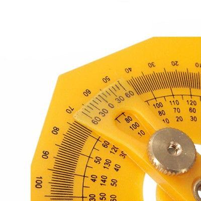 Plastic Angle Finder Protractor Goniometer Miter Gauge Arm Measuring Ruler Tool 8