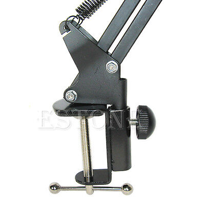 Microphone Arm Holder Stand Mic Suspension Boom Scissor For Studio Broadcast PN