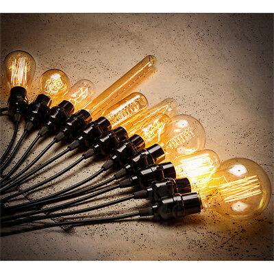 E27 E14 40W 220V Edison Lampe Gluehbirne Retro Vintage Glüh Birne Zuhausedekor 3