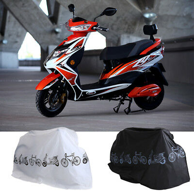 Motorcycle Motor Bike Scooter Waterproof UV Dust Snow Proof Protector Rain Cover 9