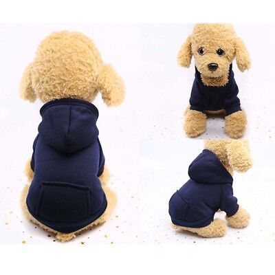 Pet Dog Cat Puppy Sweater Hoodie Coat For Small Pet Dog Warm Costume Apparel HOT 8