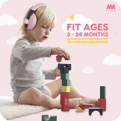 Mumba Baby Earmuffs Ear Hearing Protection Noise Cancelling Headphones For Kids 3
