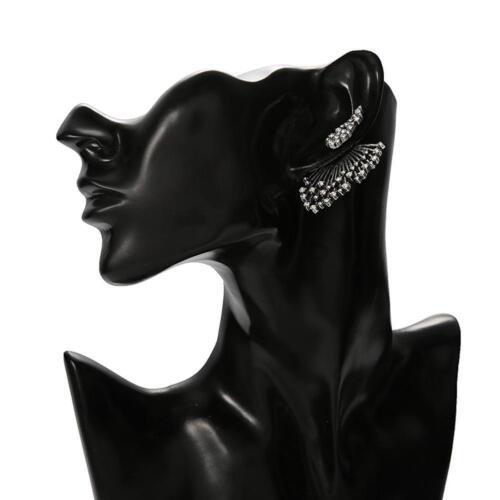 1PCS Trend Punk Style Zircon Statement Ear Stud Earring Women Jewelry Gift 5