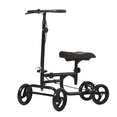 ELENKER All-Road Knee Walker Steerable Madical Scooter Crutch Alternative Black 5