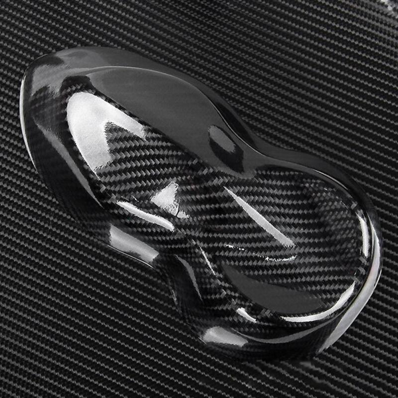 Super Gloss Carbon Fiber Vinyl Film Wrap Bubble Free Air Release 6D Car-Sticker 5