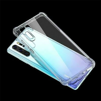 For Huawei P30/ Pro Lite Nova 5T Clear Case Slim Heavy Duty Soft Clear Gel Cover 2