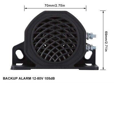 12-80v 105 Db Rückfahr Piepser Sirene Warnung Alarm für Lkw Scania DAF Volvo 1x