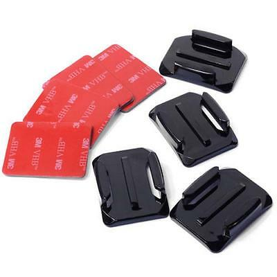 12PCS Flat Curved Adhesive Mount Helmet Accessories for Gopro Hero 3 3+ 4 5