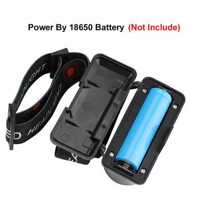 6 Modes USB Rechargeable COB LED Headlamp Headlight Head Light Torch Flashlight 2