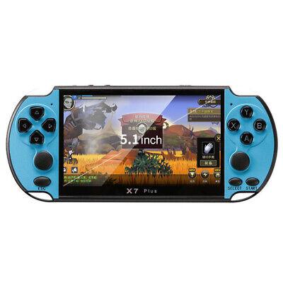 "2019 X7 Plus 5.1"" 8GB Retro PSP Dual Rocker GBA Handheld Camera Game Console New 10"