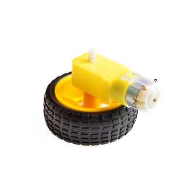 2WD Robot Smart Car Chassis DIY Kits Intelligent Engine Arduino Raspberry Pi 9