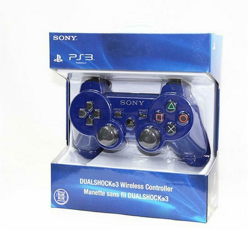 PS3 For PC Wireless Bluetooth Remote Dual Shock Controller Gamepad Joystick 10