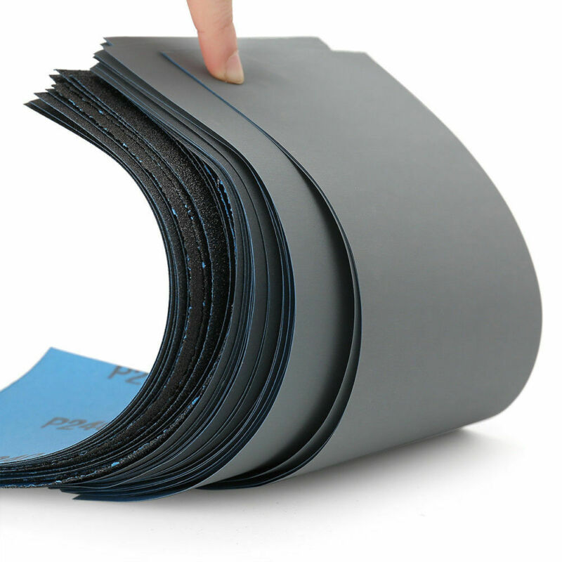Wet and Dry Sandpaper Any Grit 800-7000 High Quality Sanding Paper Abrasive Tool 2