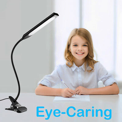Dimmable Flexible USB Clip-On Desk 48 LED Table Reading Book Lamp 5W Light 3