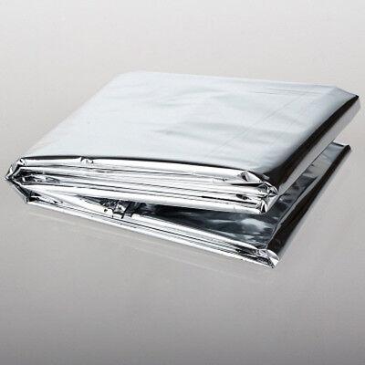 Outdoor Survival Emergency Mylar Waterproof Sleeping Bag Foil Thermal Blanket 6