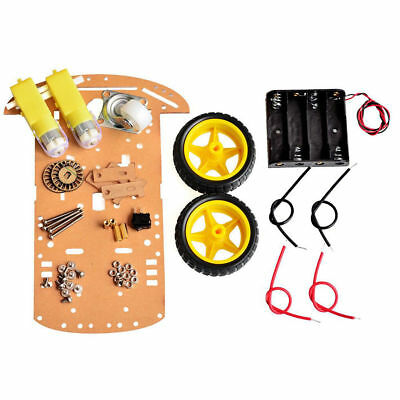 2WD Robot Smart Car Chassis DIY Kits Intelligent Engine Arduino Raspberry Pi 11