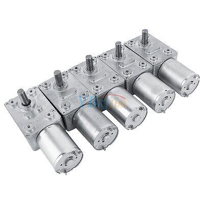 Schneckengetriebe Getriebemotor DC 12V 5//6//160rpm Drehmoment Turbine Motor DE