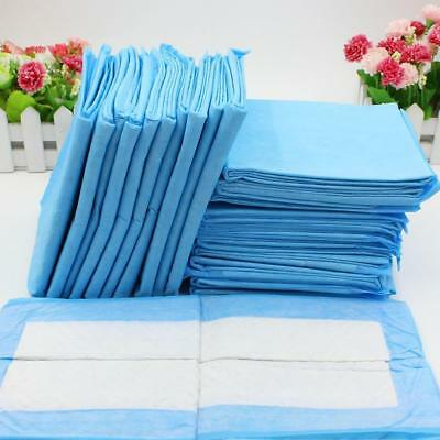60x60CM 100 SUPER ABSORBENT PUPPY TRAINING PADS TRAINER TOILET WEE MATS FOR DOGS 2