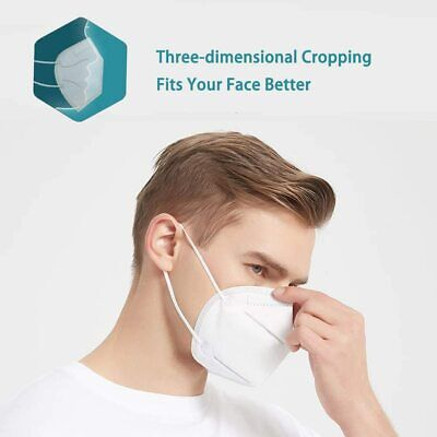 KN95 Disposable Face Mask Mouth Cover Medical Protective Respirator Masks K N95 5