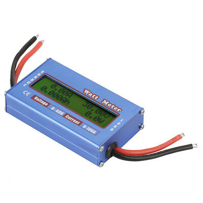 YouN Simple DC Power Analyser Watt Volt Amp Meter 12V 24V Solar Wind Analyzer