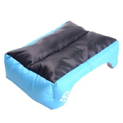 Large pet kennel dog mat cat bed washable candy color square nest soft warm mat 7