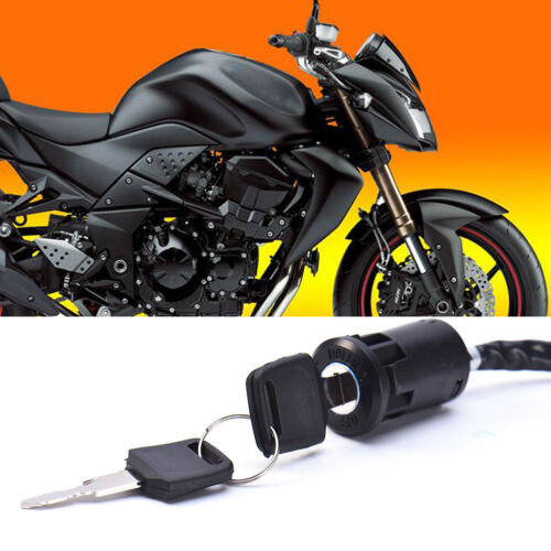 1PC UNIVERSAL MOTORCYCLE Start the Ignition Switch Electric Door Lock Key  Hot HQ