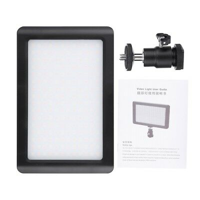Pad 192 LED Video Light 3200-6000K for DSLR Camera DV Camcorder with Hot Shoe LS 6