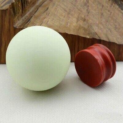 US Glow In The Dark Stone Green Luminous Quartz Crystal Sphere Ball & Stand 35mm 7