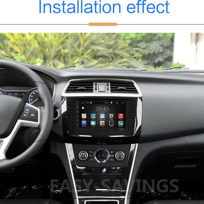 """Android 8.1 Car Stereo GPS Navigation Radio Player Double Din WIFI 7"""" 12"""