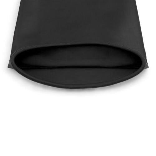 Schwarze Latex Stulpen HandschuheSäure- und laugenb Industriell  Naturkautschuk 10