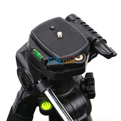 ... New Quick Release Plate Screw Adapter Tripod Mount Head For Sony DSLR SLR Camera 4