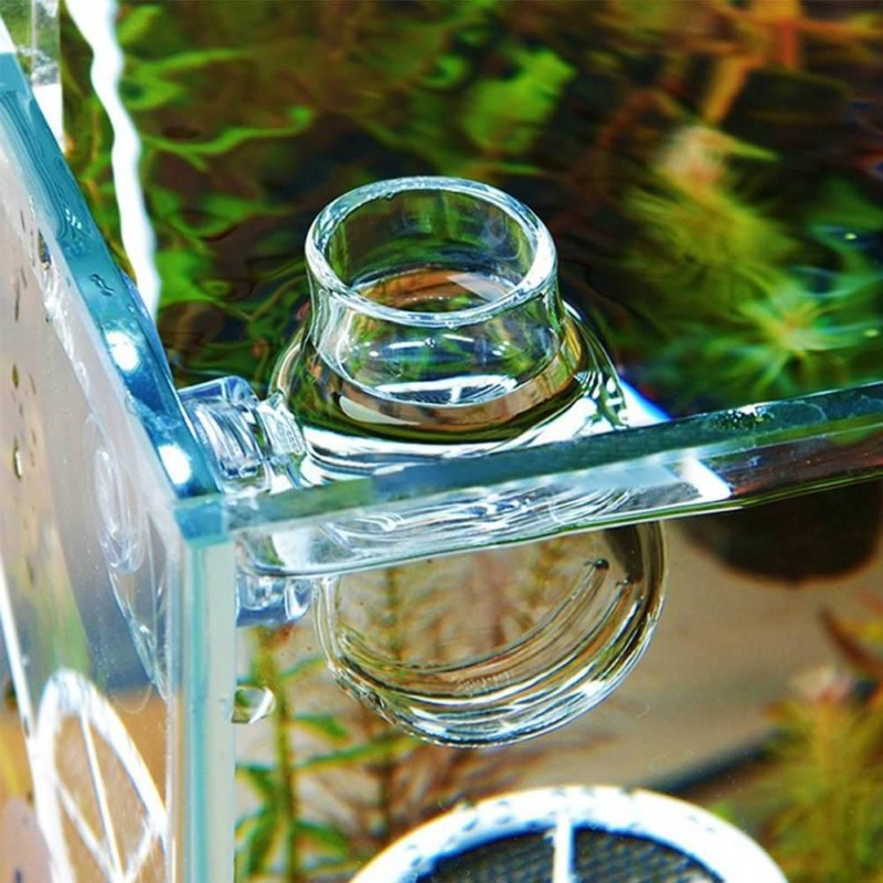 Aquarium/Fish/Tank Holder Aquatic Plant Acrylic Cup Pot Container_Gift 12