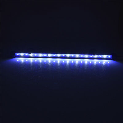 Waterproof Submersible Aquarium Fish Tank RGB LED Light Bar Strip Lamp + Remote
