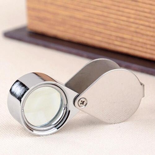 30x Juwelier Schmuck Vergrößerungs glas Reparatur Uhrmacher Lupe* ._DED D6J3 6