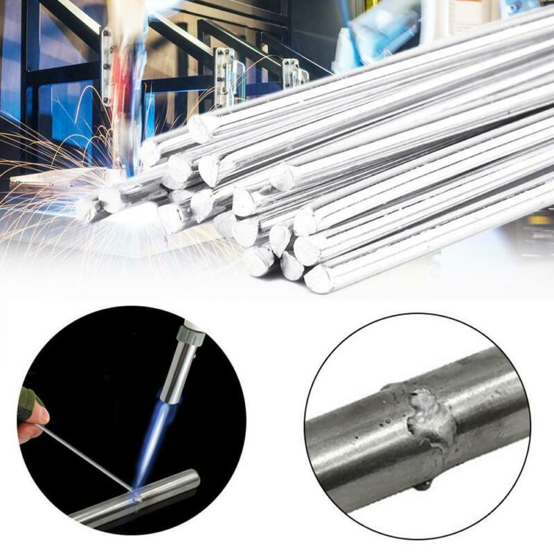 10pcs Easy Melt Weld Rod Low Temperature Aluminum Wire Brazing 1.4mmx500mm 3