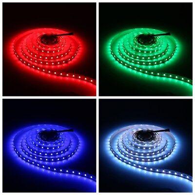 LED Stripe 5050 SMD RGB Leiste Streifen Band APP Musik Fernbedienung+Netzteil