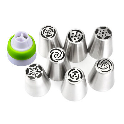 7Pcs Russian Tulip Flower Cake Icing Piping Nozzles Decorating Tips Baking Tools 2