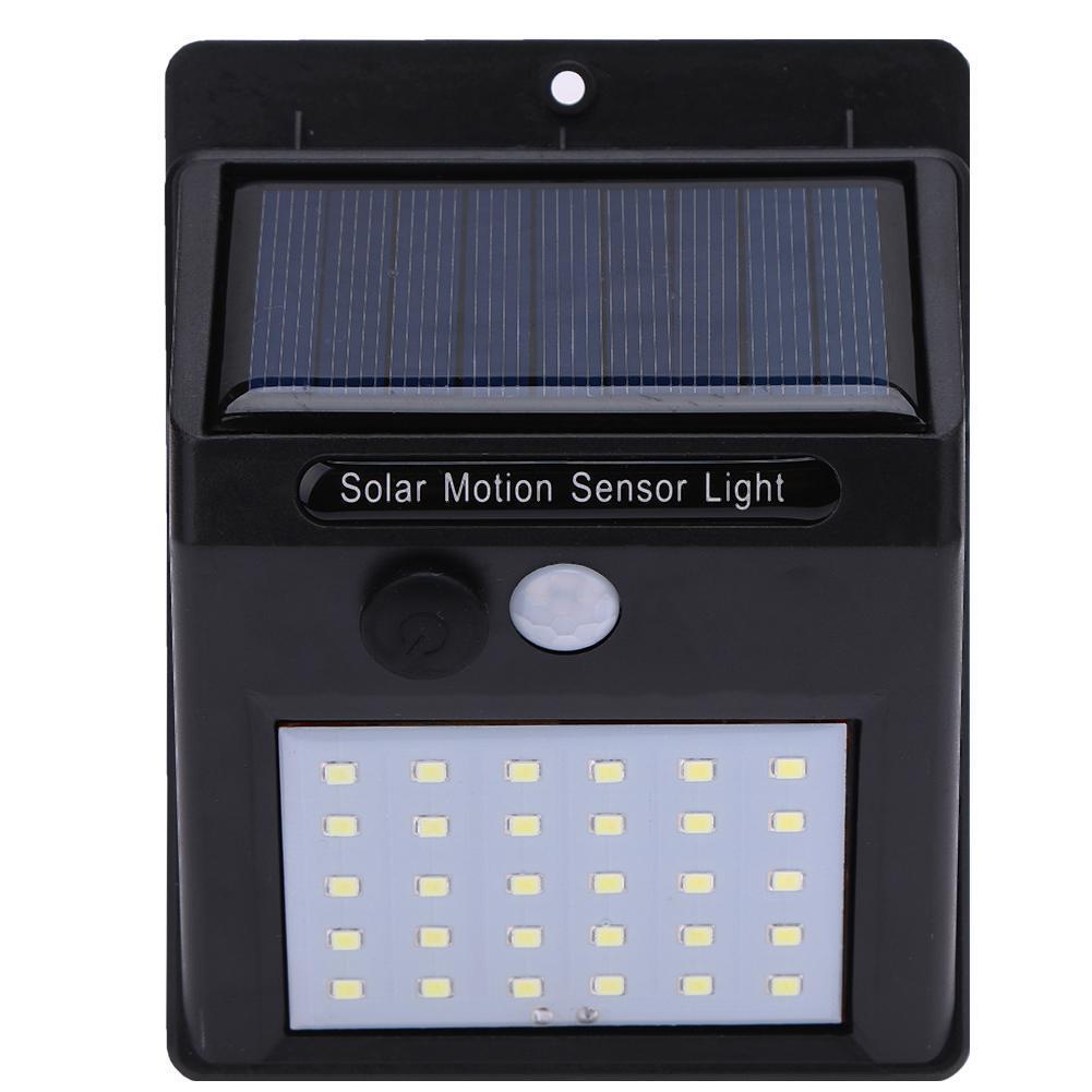 Solaire Puissance LED Lumière PIR Capteur de mouvement Jardin Applique Nuit Lamp 4