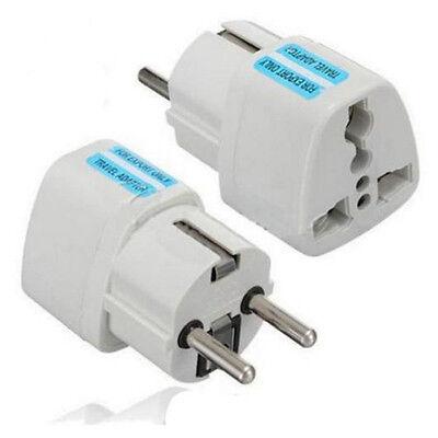 USA US UK AU To EU Europe Travel Charger Power Adapter Converter Wall Plug Home 2