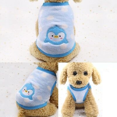Pet Clothes Sweater Chihuahua Teddy Small Dog Coat Jacket Flannel Soft Warm 4