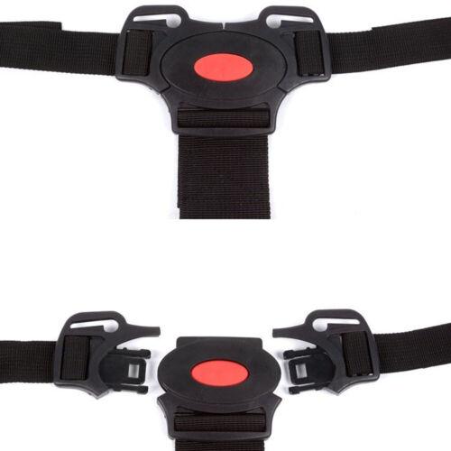 Kids 5 Point Safety Harness Stroller Baby Car Belt Strap High Chair Pram Buggy^ 10