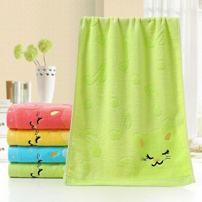 Soft Cotton Baby Infant Newborn Bath Towel Washcloth Feeding Wipe Cloth Healthy