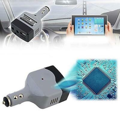 1X Car Power Inverter 12V DC to 220V AC Converter USB Charger 60W Swivel Head YT