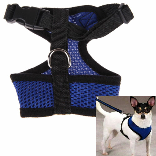 2017 Pet Control Harness Dog Puppy Cat Soft Walk Collar Safety Strap Mesh Vest