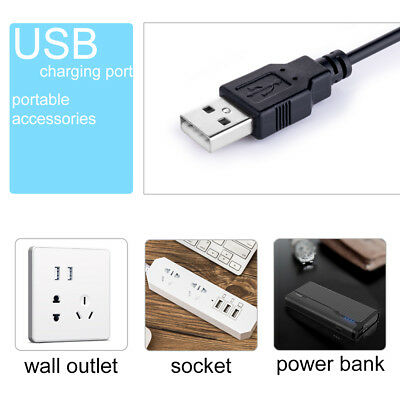 Dimmable Flexible USB Clip-On Desk 48 LED Table Reading Book Lamp 5W Light 8