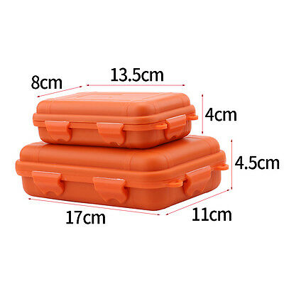 Waterproof Box Container Case Hard Plastic Shockproof Box for Outdoor Sports SS 4